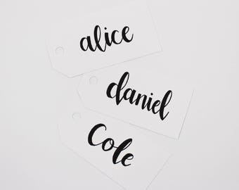 Custom Gift Tags - Hand Written