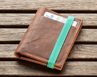 Slim Leather Wallet, minimalist wallet, leather wallet, slim wallet, Shop for gifts