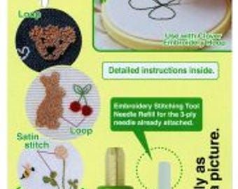 Clover Embroidery Stitching Tool  -
