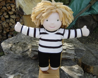 Waldorf Doll - Boy with Blonde Hair