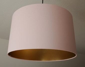 "Lampshade ""Rosé-gold"""