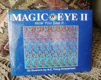 3D Illusion Book MAGIC EYE Ii