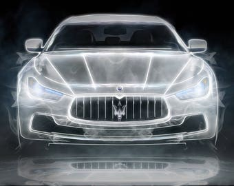 Maserati Granturismo Print