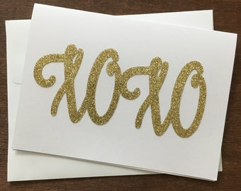 Valentine's Day Car, XOXO Card or a Great Anniversary Card, Send a Love Card Today!