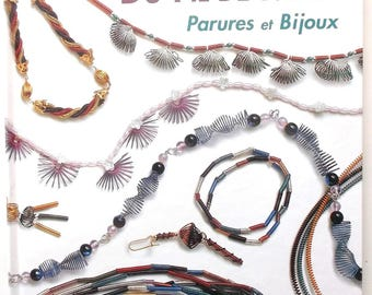 new book ORNAMENTS and jewelry stowing of Metal Wire
