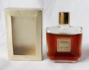Tresor Lancome vintage perfume bottle