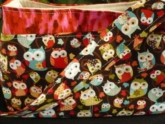 Adorable Owl Mini Diaper Bag