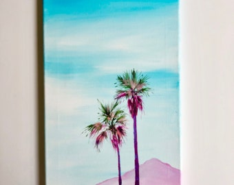 Palm Tree Series#4 canvas painting