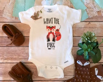Baby Shower Gifts Hipster ~ Zero fox given onesie® baby shower gift hipster baby boho