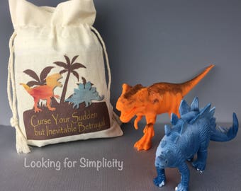 Curse Your Sudden but Inevitable Betrayal Firefly /Serenity inspired Natural Cotton Canvas Muslin Bag or Pouch or re-usable Gift Bag