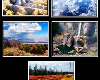 Photo Note Cards - National Parks