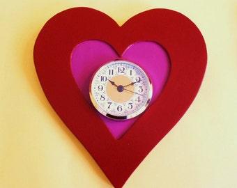 Sweetheart Time Wall Clock