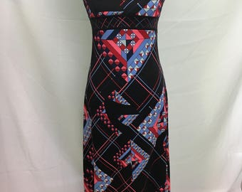 60's/70's Saks Fifth Avenue Potpourri Exclusive Maxi Dress