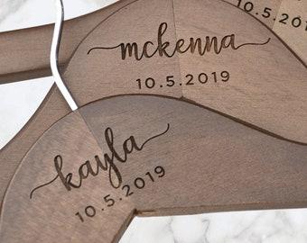 Engraved Hanger, Bridal Dress Hanger, Bride Hanger, Wedding Hanger, Personalized Hanger, Custom Hanger, Clothes Hanger, Clothes Hanger