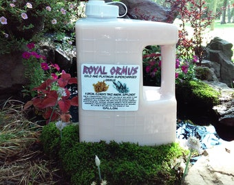 Gold and Platinum Supercharged Ormus *BEST DEAL* 1 Gallon