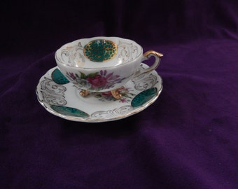 Vintage Cup and Saucer made in Japan