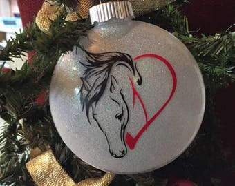 Horse Lover's Christmas Ornament 2018