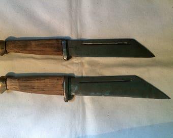 Custom Seax Knives