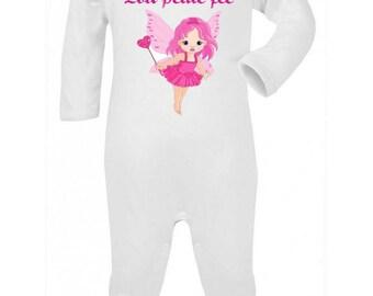 Pajamas baby Princess personalized with name