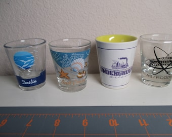 Souvenir Shot Glasses - Your Choice