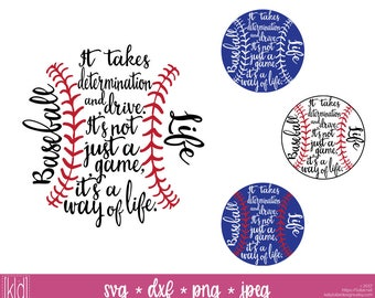 4 Baseball Life svg - Baseball svg - Baseball Design - Baseball svg files - Baseball Mom svg - Baseball Saying