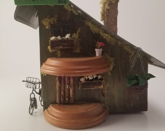 Handmade Fairy house - Fairy Garden - 797 Michigan Ave