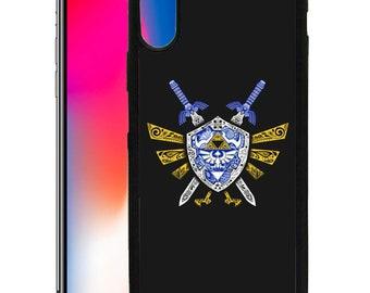 The Legend of Zelda Gaming Custom Print Case for iPhone 6 6s 7 8 Plus & X ZE01