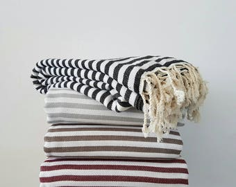 100 Cotton Bedspread Diamond Pattern Blanket Large Family