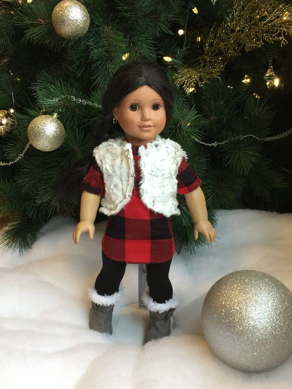 fits like american girl doll clothes 18 - Christmas Decorations For American Girl Dolls