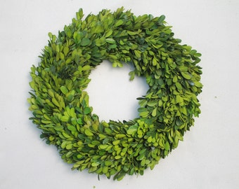 Boxwood Wreath 12 Inch Round
