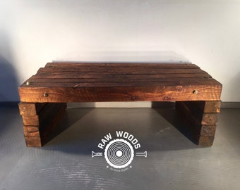 Demolition Wood Beams-Coffee Table-BY RAW WOODS