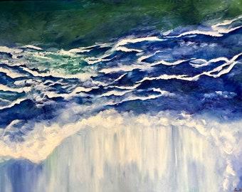 The Storm, original artwork