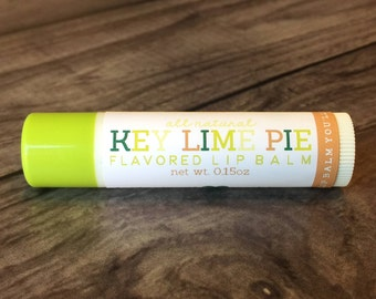 KEY LIME PIE Lip Balm - All Natural - Homemade