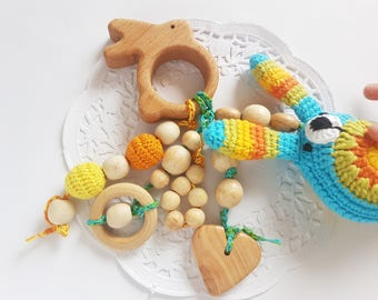 Natural teething toy teething remedy