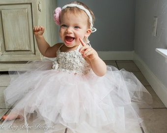 Grace Dress||Light Pink Crochet Tutu Dress||Ballerina Costume||Pink Flower Girl Dress||Baby Girlu0027s Dress||First Birthday Dress||Ballet  sc 1 st  Etsy & Baby ballerina dress | Etsy