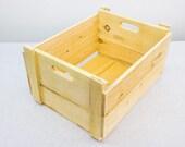 Des caisses en bois faits à la main - le design est issu des vieilles caisses en bois pomme - bois de pin naturel - Superior Grade