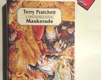 Masquerade by Terry Pratchett Audio book (cassette) read by Nigel Planer