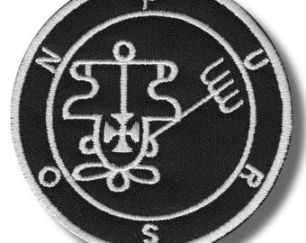 Sigil of Purson - embroidered patch, 8x8 cm