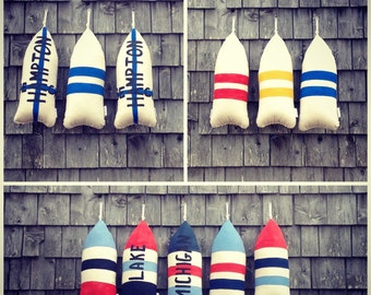 Maine Lobster Buoy Pillow. ANY COLOR you choose. gifts under 40.bumper pillow.Nautical pillow. maine.Buoy pillows