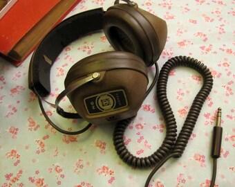 Vintage headset KOSS/free shipping/old professional headset
