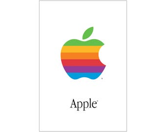 "APPLE POSTER Macintosh Poster Ultra-High Quality Archival Print 24"" x 36"""