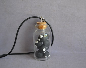 Soot Sprite Bottle Charm