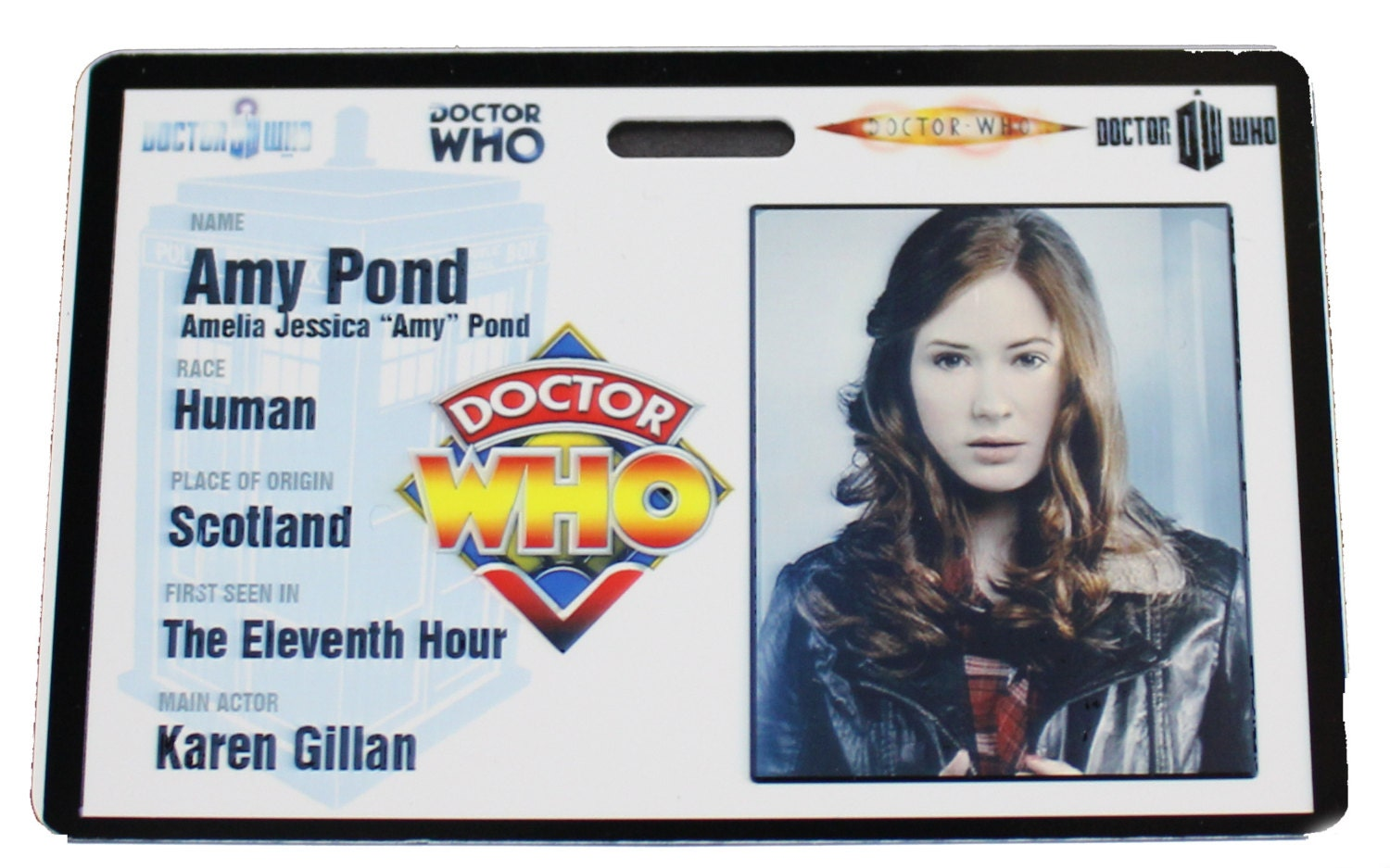 Amy Pond Sex Stories Cool doctor who amy pond prop id badge