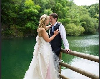Lacey Daisy Whimsical fairy Wedding Dress