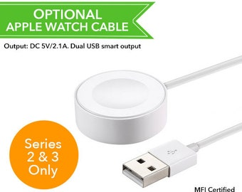 ADD-ON: Apple Watch cable for Series 2 3 only