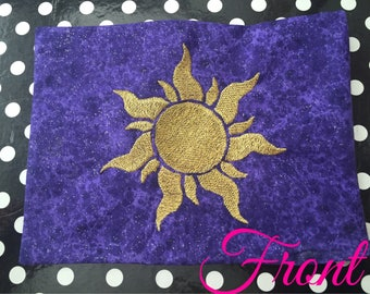 Tangled Rapunzel Flag