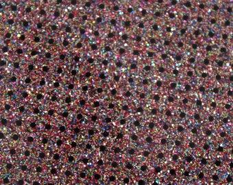 Polka Dot Glitter vinyl fabric ...Prisim