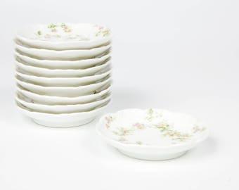 Haviland Limoges Butter Pat Dish, Antique, Vintage, France