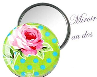 mirror flowers bag