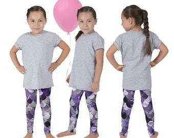 Mermaid Birthday, Mermaid Outfit, Girls Mermaid Pants, The Little Mermaid, Ariel Leggings, Mermaid Leggings, Mermaid Tail Pants
